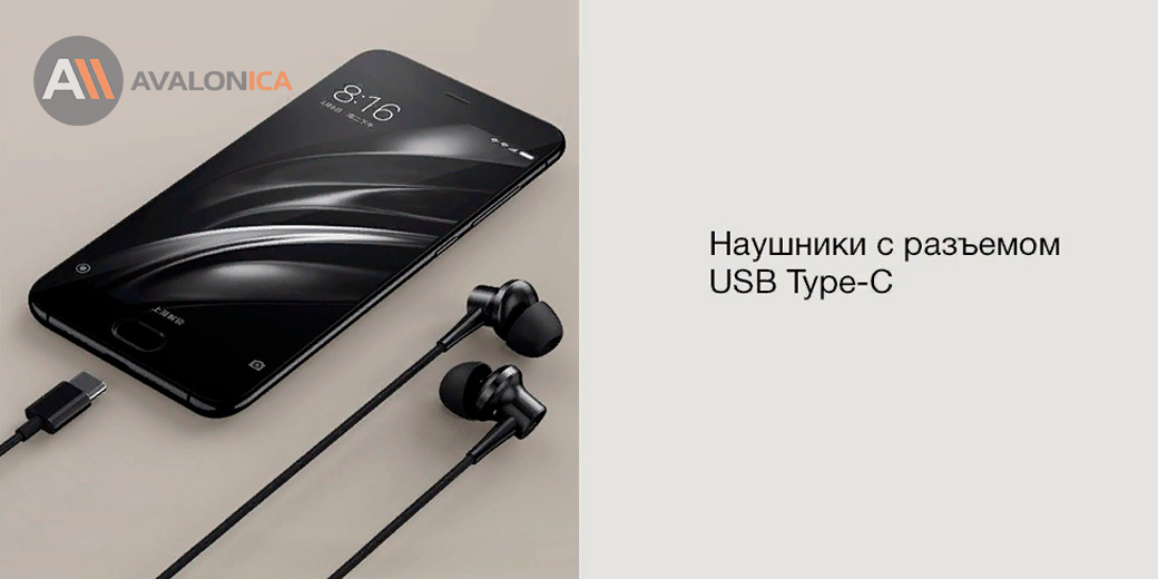 Стерео-наушники Xiaomi Mi ANC&Type-C In-Ear Earphone