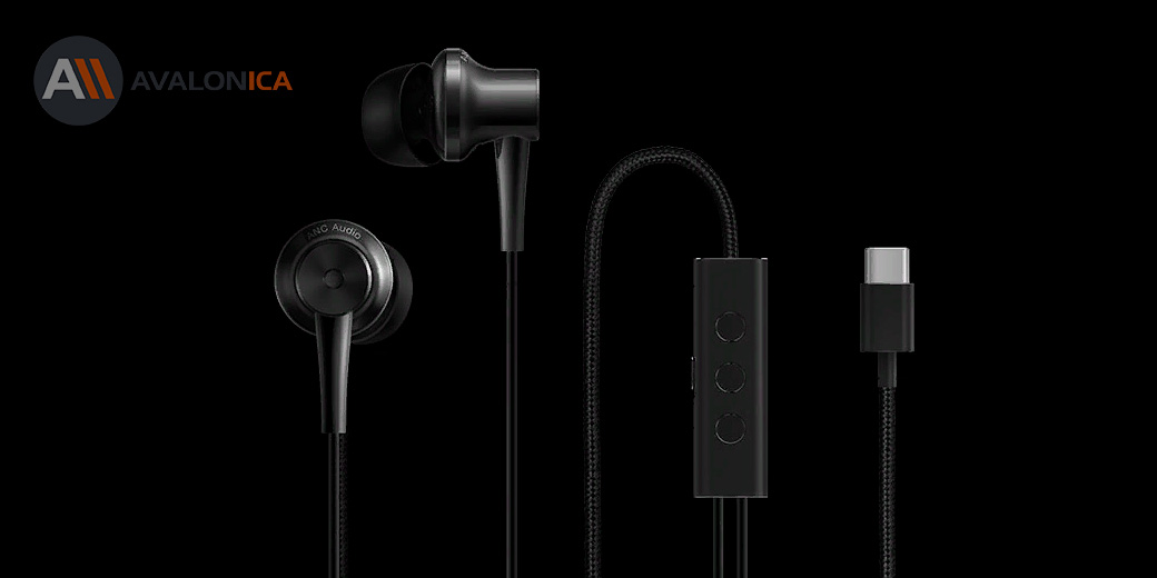 Стерео-наушники Xiaomi Mi ANC&Type-C In-Ear Earphone Black
