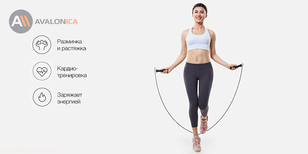 Скакалка Xiaomi Yunmai Sports Jump Rope (Базовая версия)