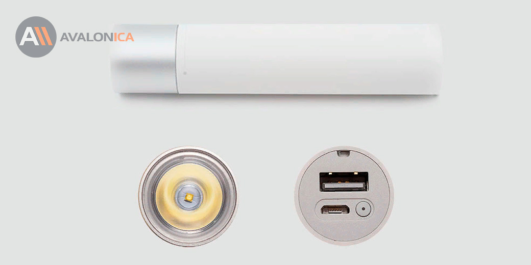 Фонарик Xiaomi Portable Electric Torch White