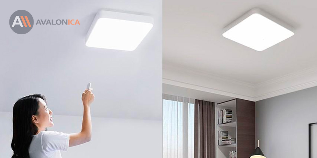 Потолочная лампа Yeelight Xiaomi LED Ceiling Lamp Plus Grey