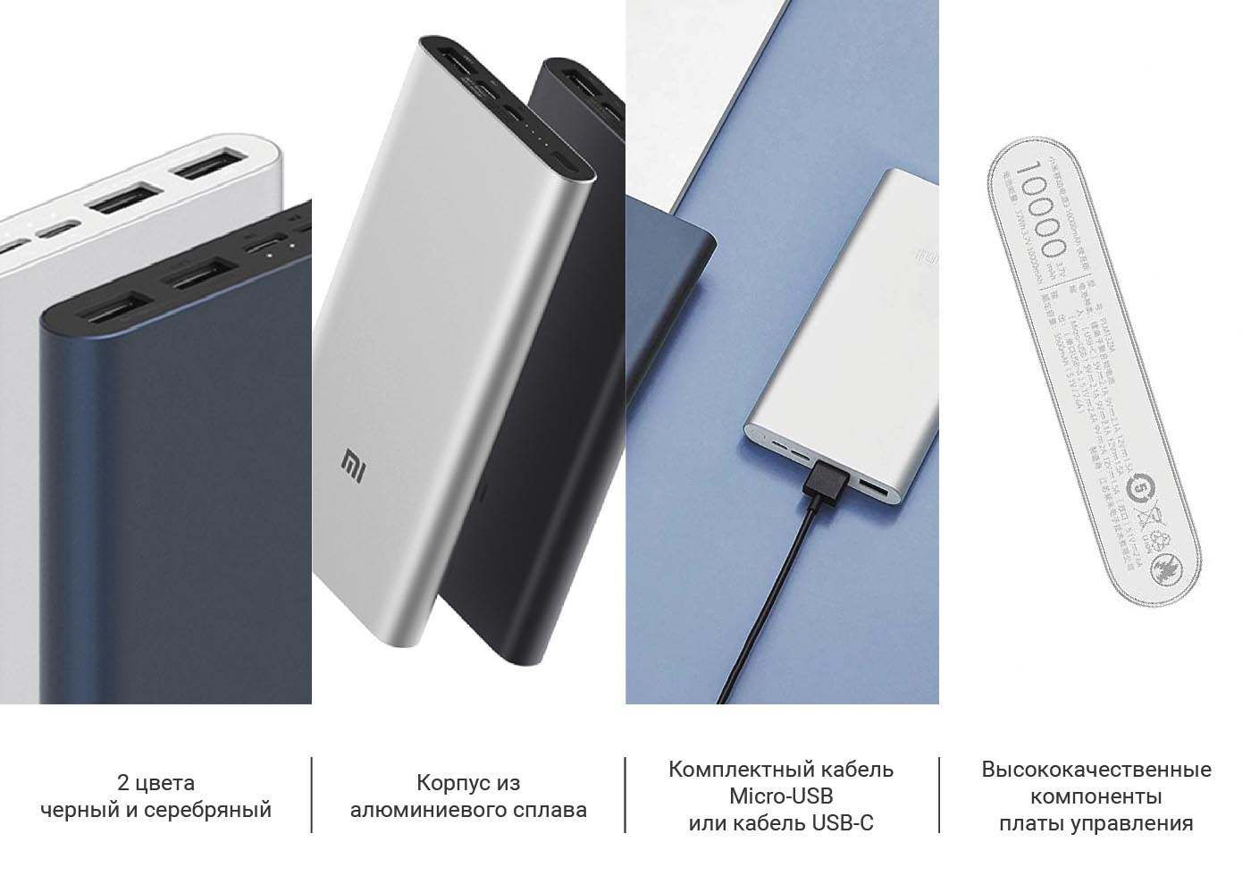 Power Bank Xiaomi (Mi) Power 3 Pro 20000 mAh