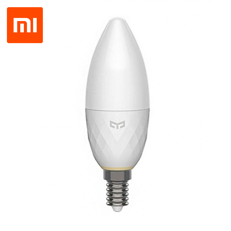 Лампочка Xiaomi Yeelight Yeelight LED Candle Light Bulb (Mesh) (YLDP09YL), белый