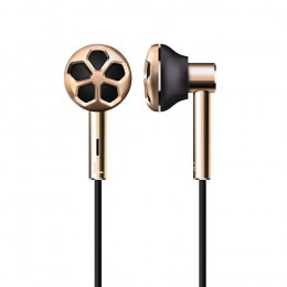 Стерео-наушники 1MORE E1008 Dual Driver In-Ear Headphones Gold