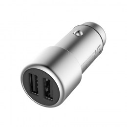 Автомобильное З.У. Xiaomi ZMI Metal Car Charger 2USB 3,6A
