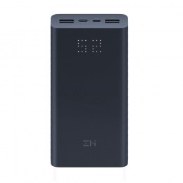 Внешний аккумулятор Xiaomi Mi ZMI Power Bank Aura 20000mAh Black