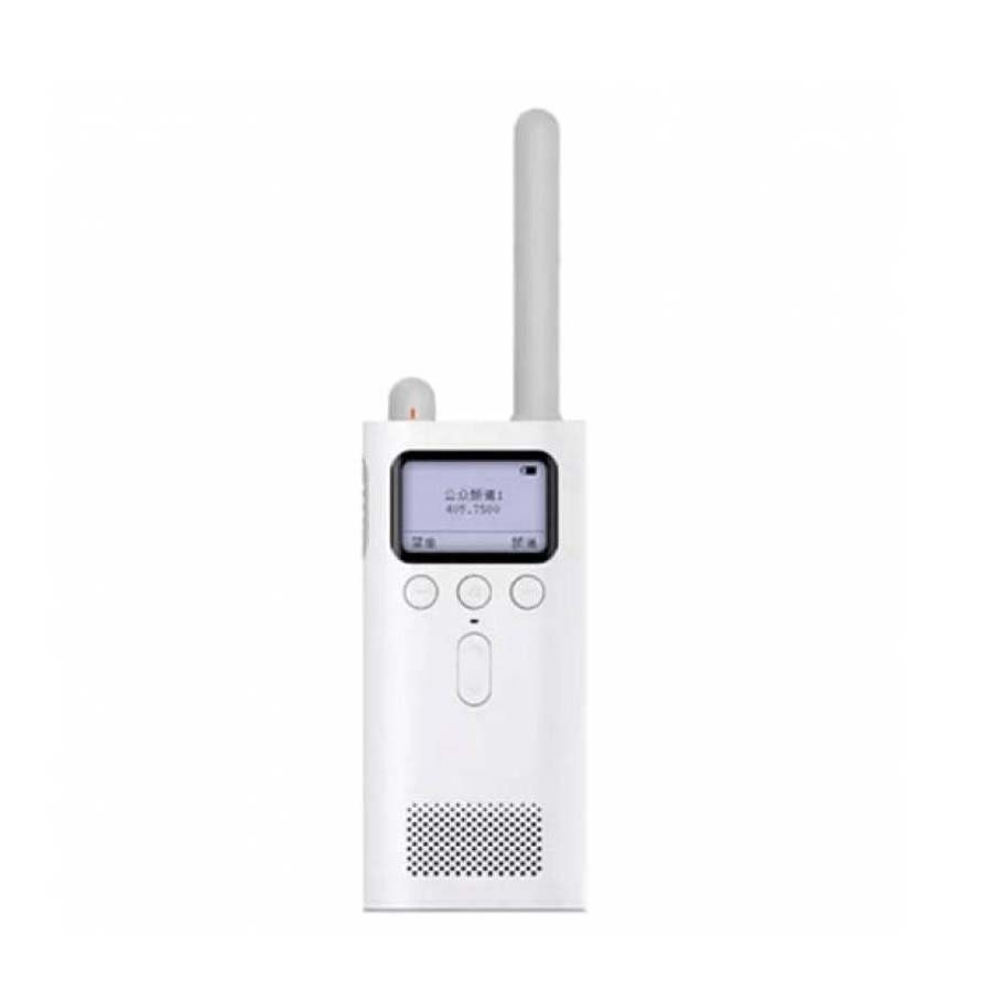 Рация Xiaomi MiJia Portable Walkie Talkie Two-Way Radio White