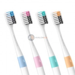 Набор зубных щеток Xiaomi Doctor B Bass Method Toothbrush (4 шт.) White