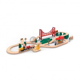 Детская железная дорога Xiaomi Mitu Track Building Block Electric Train Set