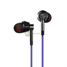 Стерео-наушники 1MORE 1M301 Single Driver In-Ear Piston Headphones Grey/Blue